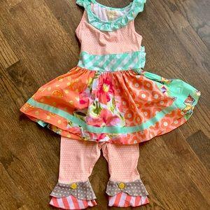 Matilda Jane Trifle Pudding A-Line Dress set